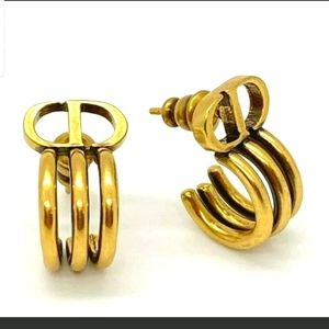 DIOR CUFF earrings 100% Authentic never worn!